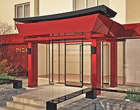 Medical centre. Main Entrance.