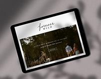 Forever Wild Logo + Online