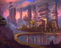 TEMPLE - Fantasy Environment Concept Art (COPY)