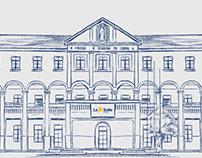 Sketch do Colégio La Salle Carmo - de Caxias do Sul - R