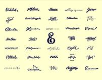 Logo/lettering (2013 - 2018)