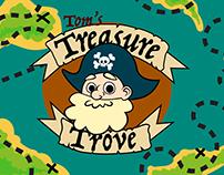 Tom's Treasure Trove - Augmented Reality Game