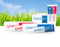 Design and layout of booklet for Diabetegen cream
