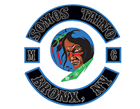 """The patc& logo made for the MCC """"Somos Tainos"""" in NY"""