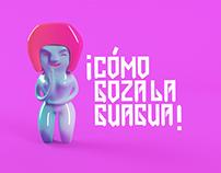 """""""Las guambras"""" Stickers para gráfica mestiza"""