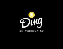 Kulturding logo, app & backend