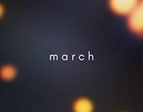 Microcosm (2018) - March