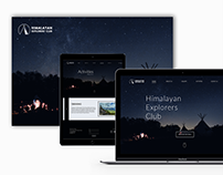 Himalayan Explorers' Club Website Redesign | UI/UX