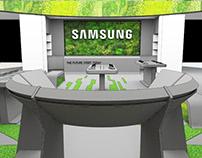 Concept non standard flagship brandshop for SAMSUNG