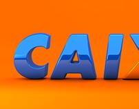 Concept Caixa Logo 3D