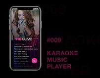 #009 Karaoke Music Player