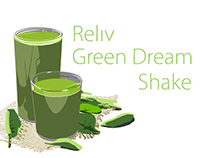 Reliv Green Dream Shake Animation