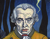 Immanuel Kant for Hohe Luft magazine