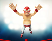 luchador-rojo