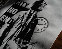 CITY NO END: The art for Engineered Garments Capsule