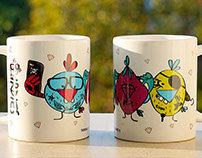 BIRDIES Nerdies MUGS