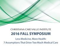 2016 Fall Value Institute Symposium