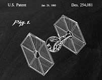 Star Wars Patent Art