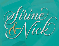 Sirine and Nick Wedding Logo
