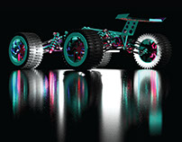 4x4 WD Off-Road Truggy