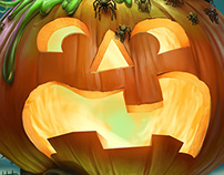 Capa Halloween - Revista Recreio