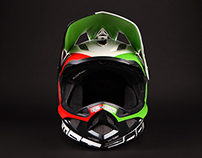 JS for ANNA SKUMBINA Custom TLD D3 helmet painting