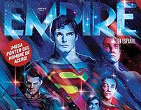 SUPERMAN80- Revista Empire Cover- Vectorart