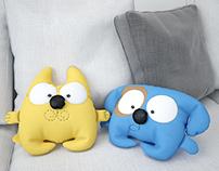 Toy pillows