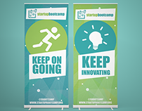 Motivational Banners for Startupbootcamp