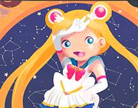 ILUSTRACIÓN   Sailor Moon Tribute