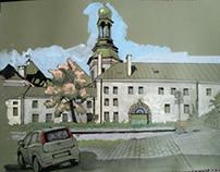 Kielce. Pałac biskupów krakowskich