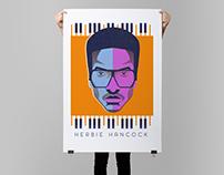 Herbie Hancock poster design