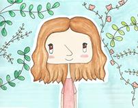 Ilustração | Chechas com frases inspiradoras