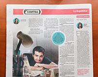 Entrevista en el Diario La República