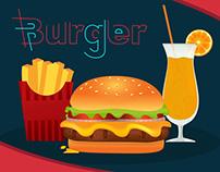 Tasty Burger ( Motion graphic )