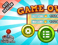 GUI Design - Games1up.com