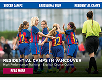E-Newsletter draft for the FCBEscolas Canada