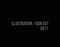 Illustration/Icon Set 2017