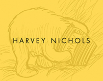 Harvey Nichols Packaging Honey Range/Flavoured Tea