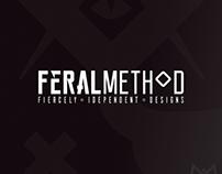 Feral Method Font