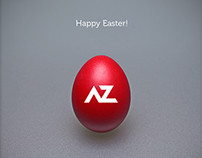 Happy Easter Card + Making of