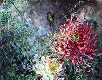 Chinese Impressionist painting by Anita Yan Wong