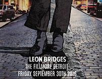 Leon Bridges Music Poster