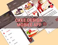 Cake Design Mobile App
