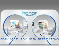 Huawei Honor Launch Event - Exhibition Space Design