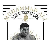 Muhammad Ali - The Greatest (Tribute Poster)