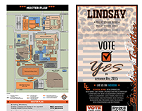 Lindsay Public School Bond 2015 Tri-Fold and Bond Board