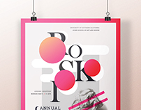 USC Roski Student Exhibition Poster