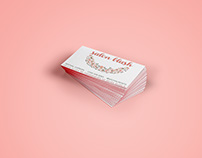 Salon Blush Business & Referral Cards