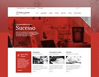 Website Temer & Lacerda Advogados